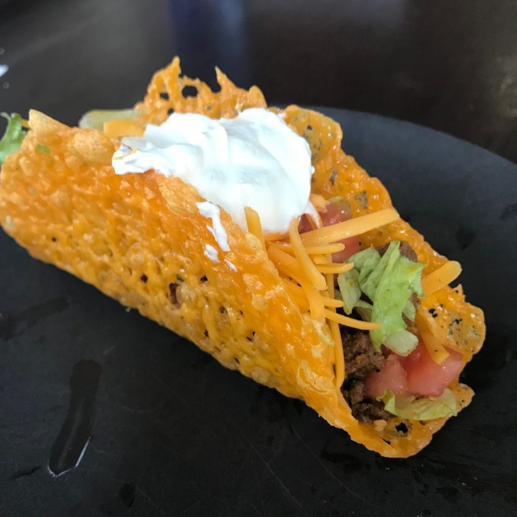 Keto and Low Carb Cheese Taco Shells 2