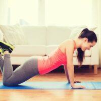 knee pushup