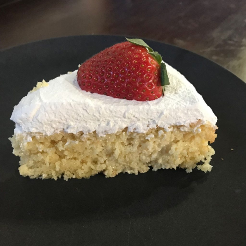 Keto and Low Carb Tres Leches Cake 2