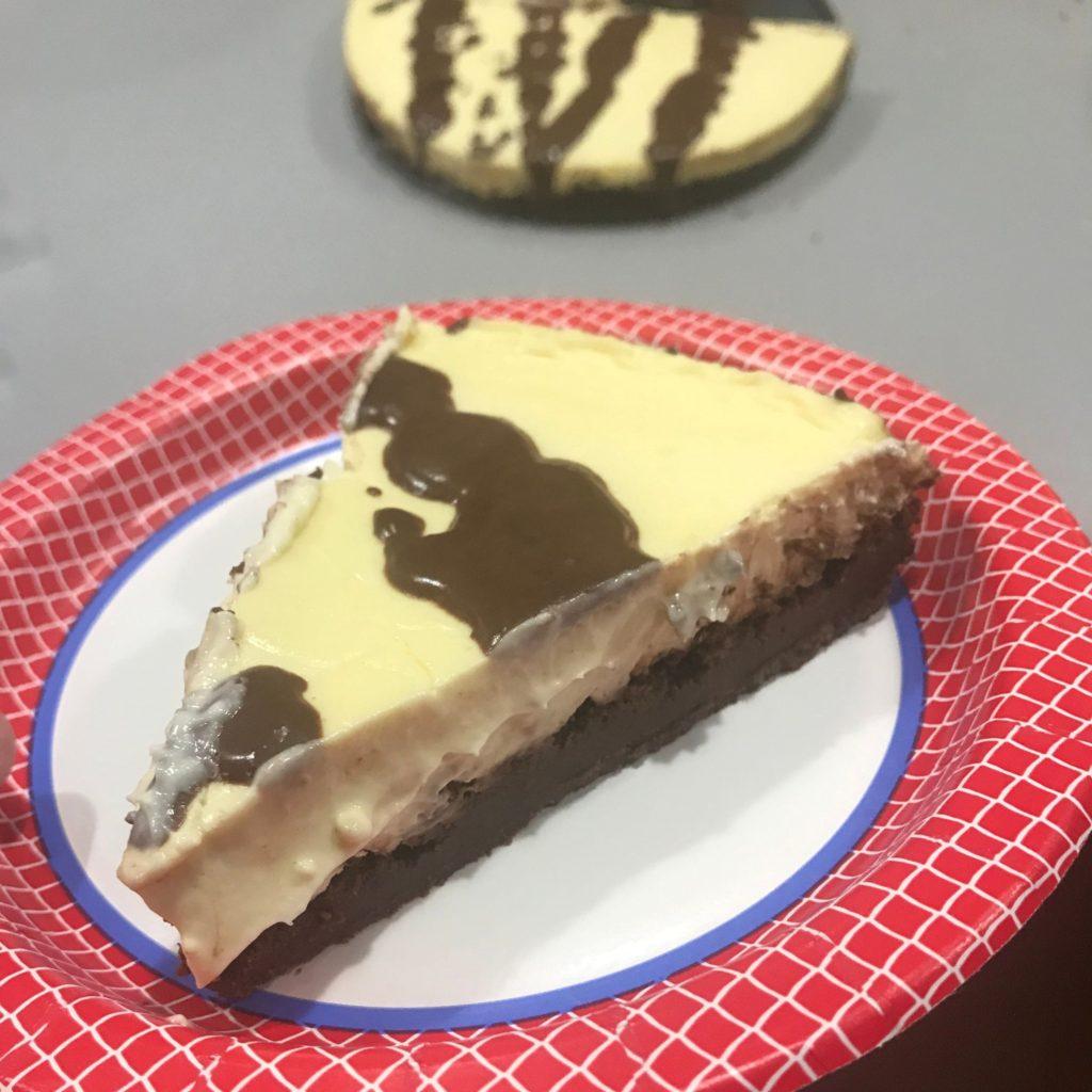 Keto Memorial Day Recipes Brownie Cheesecake