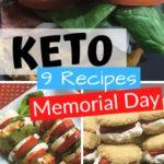 Keto Memorial Day Recipes Pin 1