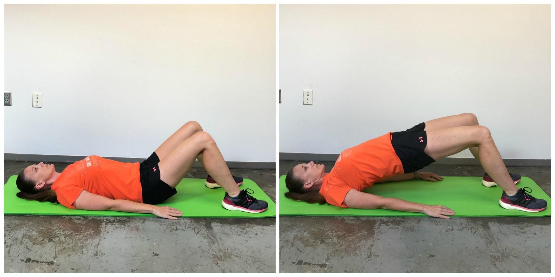 Best Leg and Butt Workout Glute Bridge