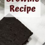 Keto Approved Brownie Recipe