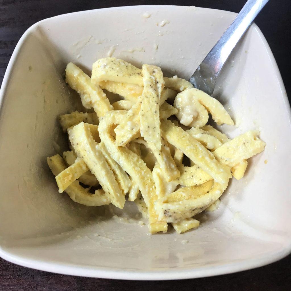 Keto Egg Fast Lunch
