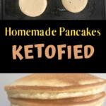 Keto Blender Pancakes