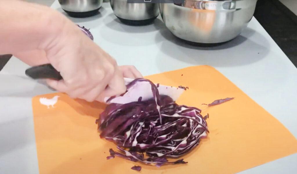 Keto Egg Roll Bowl Recipe Process