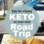 How to Stay Keto on a Road Trip pin 1