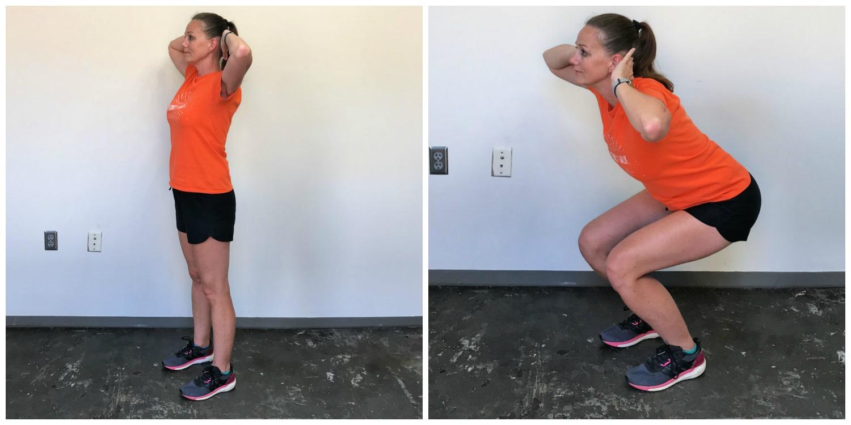 Best Leg and Butt Workout Narrow-Stance Squats
