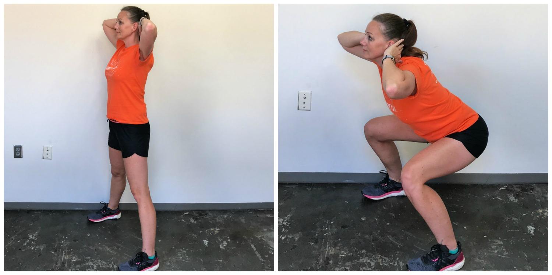 Best Leg and Butt Workout Wide-Stance Squats