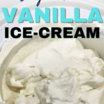 keto vanilla ice cream