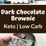 Keto Dark and Decadent Chocolate Brownies