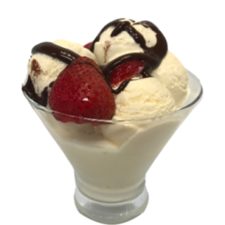 Keto Homemade Vanilla Ice Cream