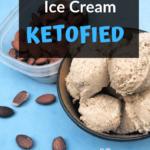 Keto Almond Butter Ice Cream