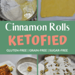 Keto Cinnamon Rolls with Sweet Fathead Dough