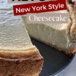 Keto New York Style Cheesecake pin 1