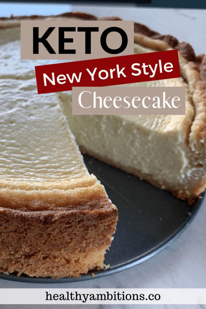 Recipe For Keto Cheesecake Pinterest