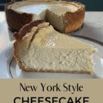Keto New York Style Cheesecake pin 2