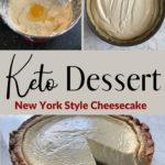 Keto New York Style Cheesecake pin 3