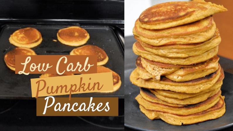 Low Carb Pumpkin Pancakes feature photo 2020