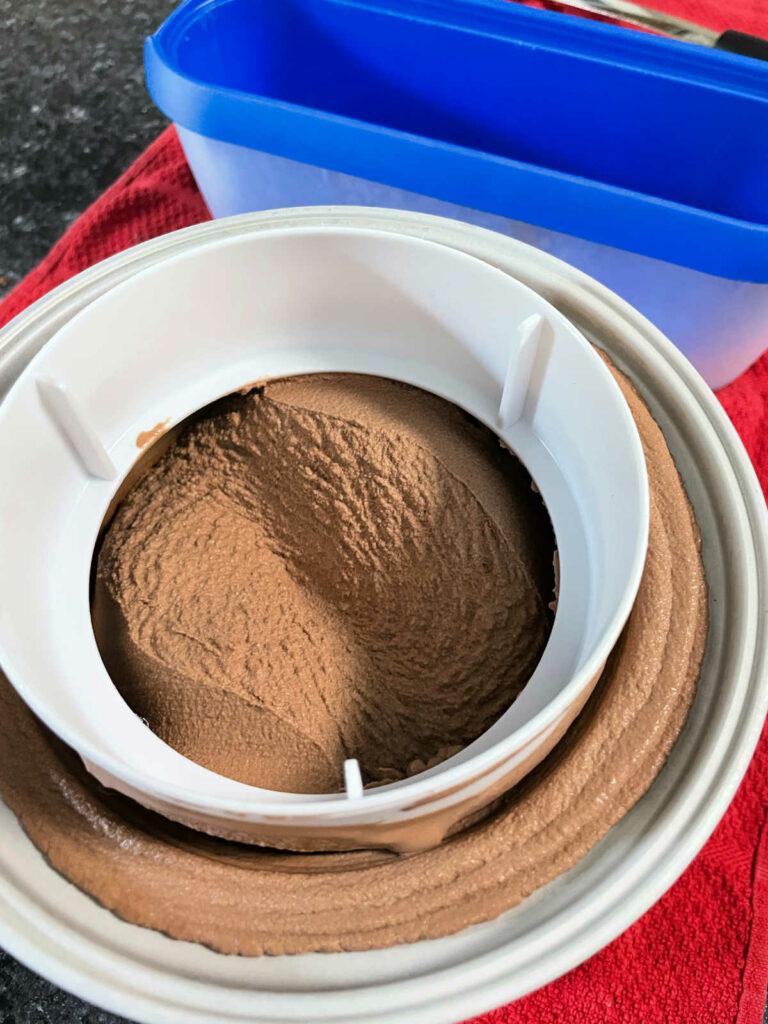 Keto Chocolate Ice Cream Cuisinart ice cream maker
