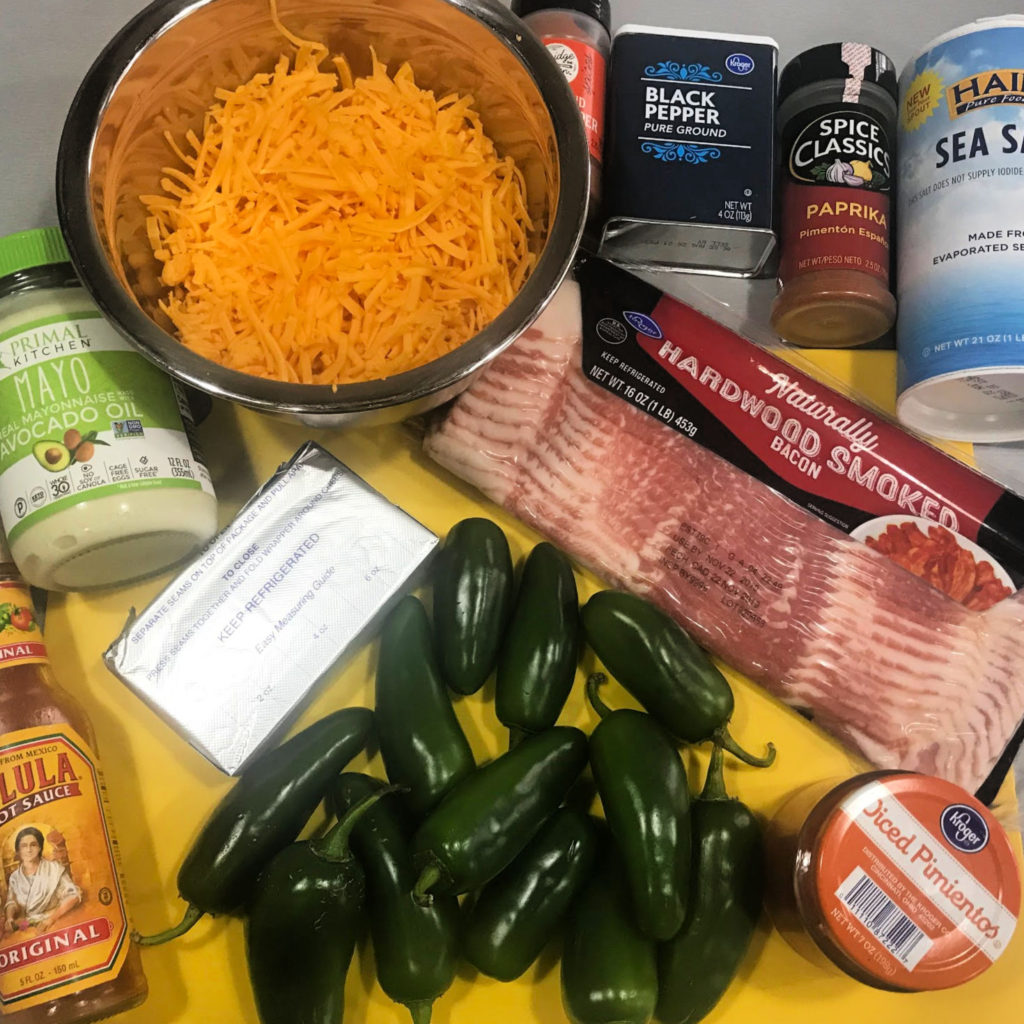 How to Cook Bacon-Wrapped Jalapeno Poppers Ingredients