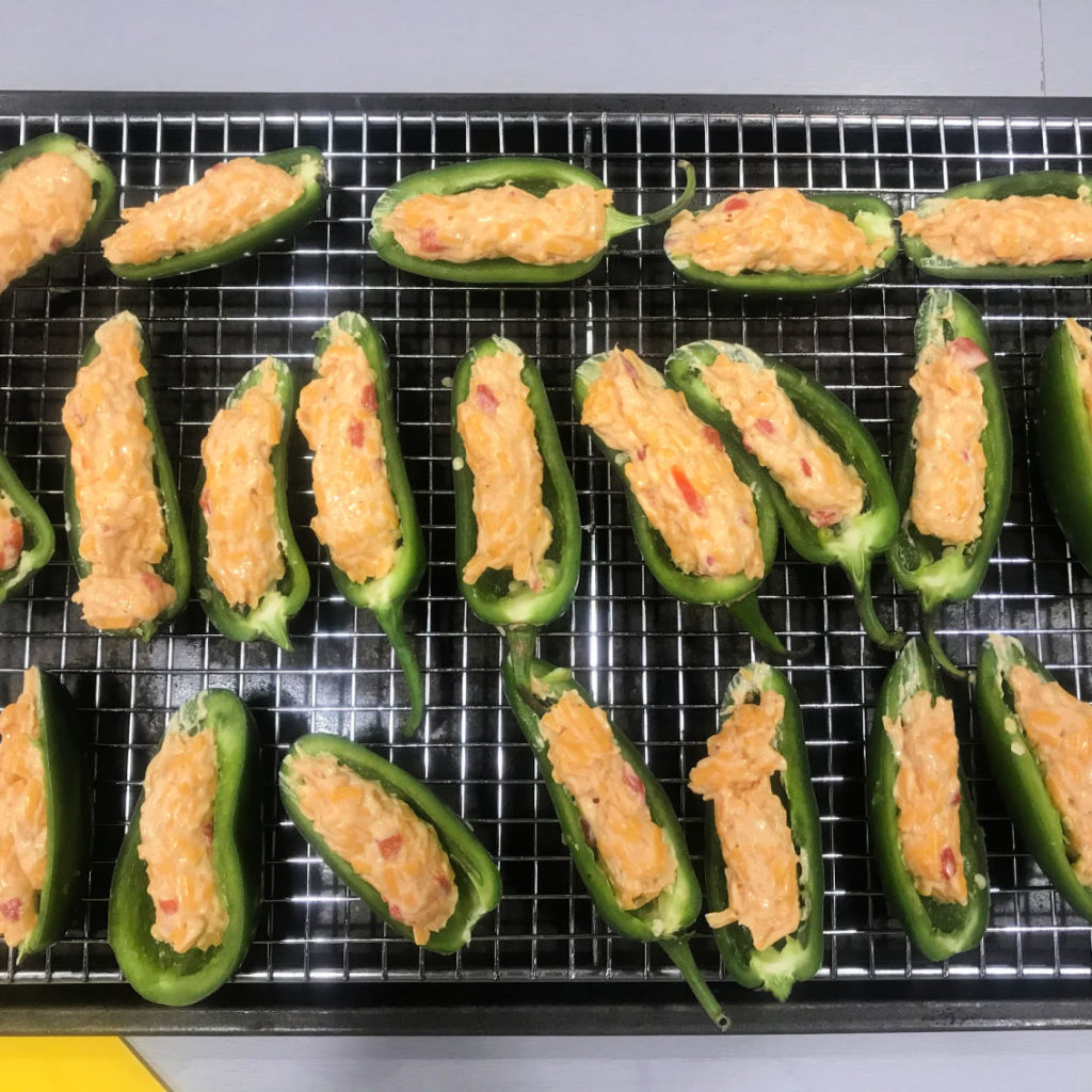How to Cook Bacon-Wrapped Jalapeno Poppers With Pimento Cheese