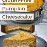 Gluten-Free Pumpkin Cheesecake pin 1 2020