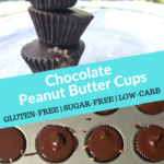 Pin 3 Keto Chocolate Peanut Butter Cups