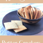 The Best Keto Butter Crackers pin 2