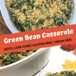 Keto Green Bean Casserole Pin 2