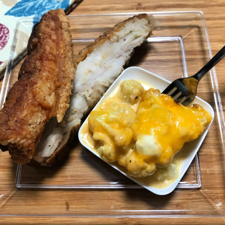Keto Cauliflower Mac 'n Cheese Recipe Card