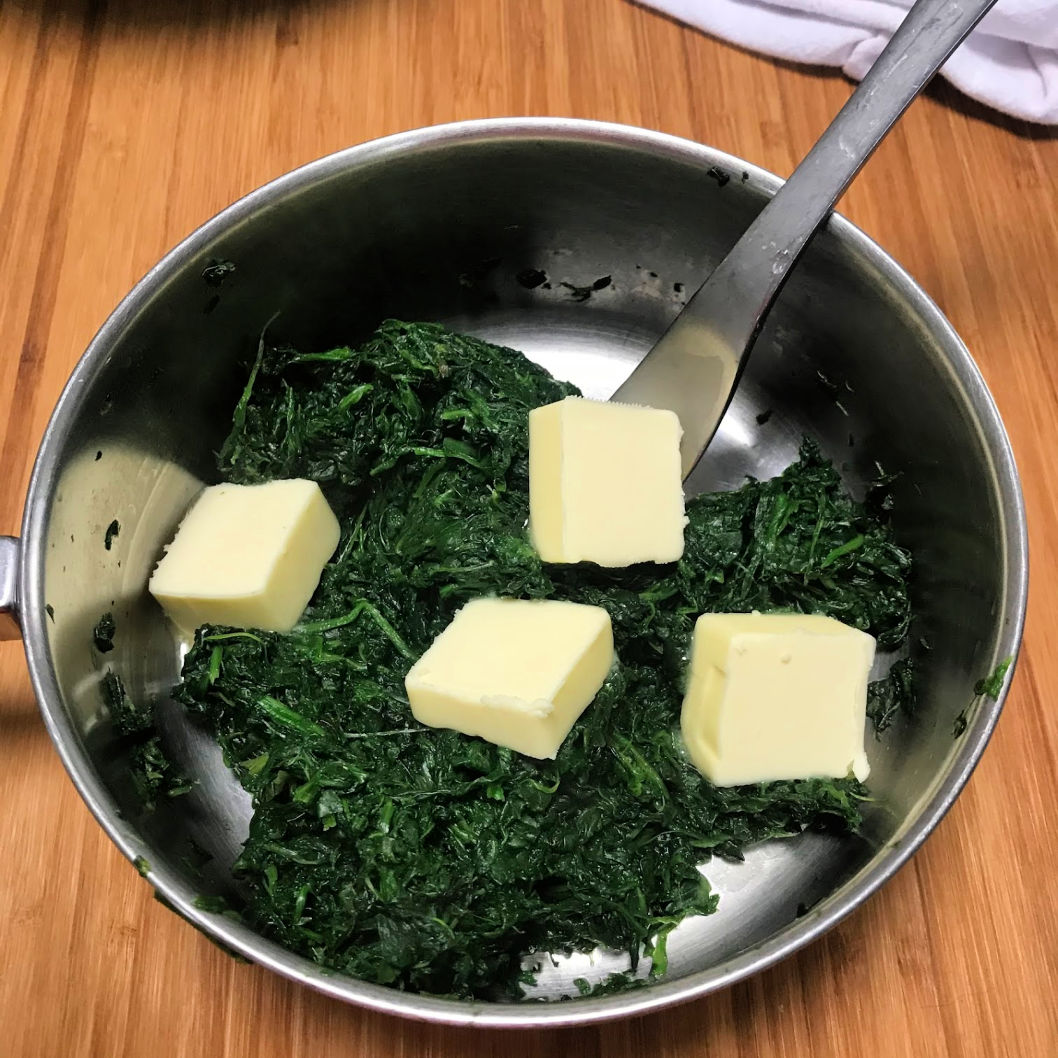 Spinach and Butter