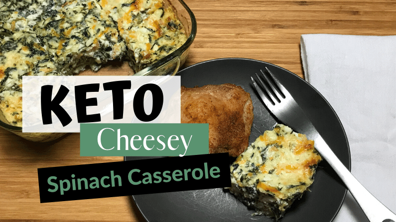 Keto Spinach Casserole for Your Holiday Gathering