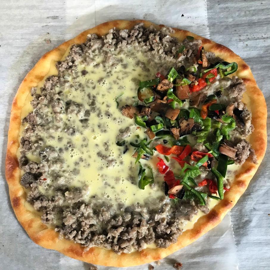 keto breakfast pizza ingredients