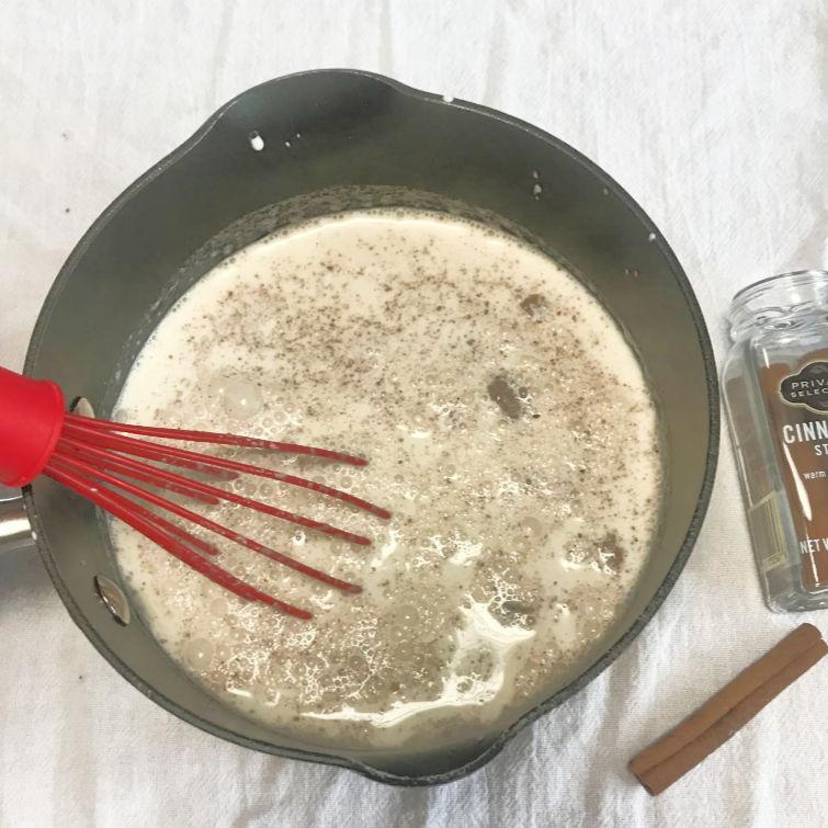 keto homemade eggnog cooking