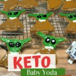 Keto Baby Yoda Gingerbread Cookies Pin 1