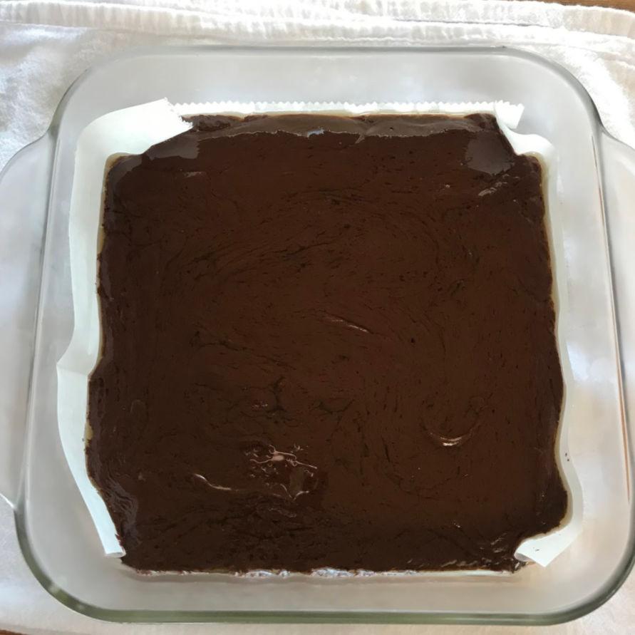 chocolate fudge layer