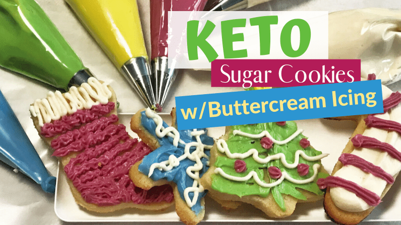 The Best Keto Christmas Cut-Out Sugar Cookies