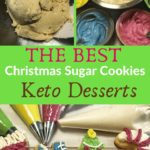 The Best Keto Christmas Cut-Out Sugar Cookies Pin 3
