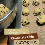 The Best Keto Soft Batch Chocolate Chip Cookies June 2020 pin 1