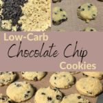 The Best Keto Soft Batch Chocolate Chip Cookies pin 3