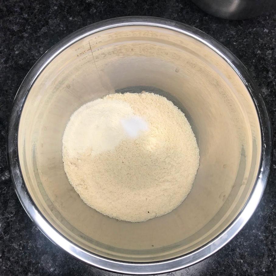 Keto Sugar Cookies dry ingredients