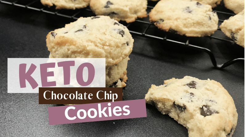 Keto Chocolate Chips Cookies Feature Photo
