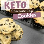 Keto Chocolate Chips Cookies Pin 1