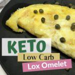 Keto Low Carb Lox Omelet Pin 1