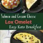 Keto Low Carb Lox Omelet Pin 3