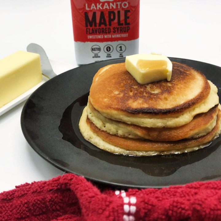 The Best Light and Fluffy Keto Pancakes Recipe Card