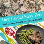 Keto Low Carb Slow Cooker Pot Roast Pin 2