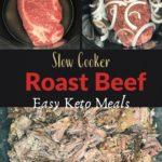 Keto Low Carb Slow Cooker Pot Roast Pin 3