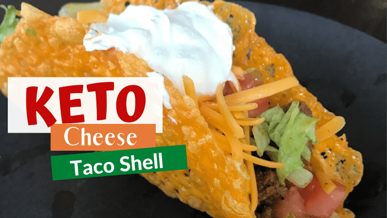 Keto Cheese Taco Shells feature photo